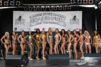 The swimwear competition