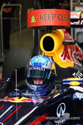Sebastian Vettel, Red Bull Racing has been testing with KERS