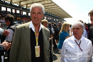 Marco Tronchetti Provera, Pirelli's President with Bernie Ecclestone