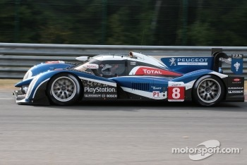 #8 Peugeot Sport Total Peugeot 908: Franck Montagny, Stphane Sarrazin, Nicolas Minassian