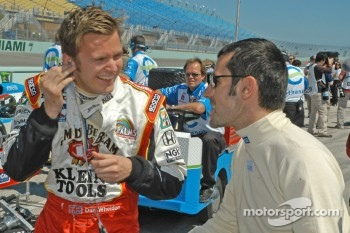 Dan Wheldon and Dario Franchitti