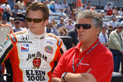 Dan Wheldon and Mario Andretti