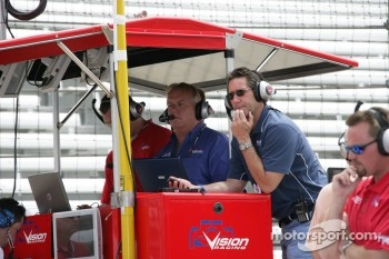 Vision Racing team owner Tony George