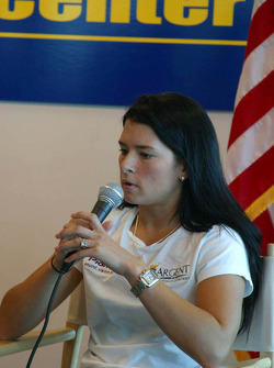 Rahal Letterman Racing press conference: Danica Patrick