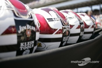 Helmets at Andretti Green Racing