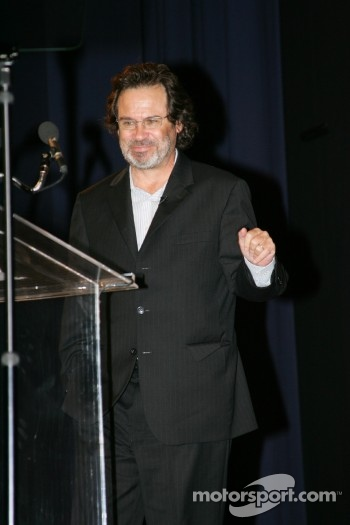 Awards show host Dennis Miller