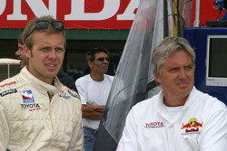 Ed Carpenter and Eddie Cheever