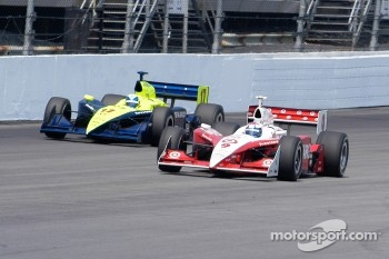Scott Dixon and Vitor Meira