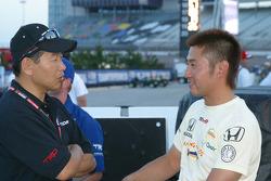 Shigeaki Hattori and Roger Yasukawa