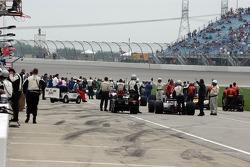 Pre-race activites