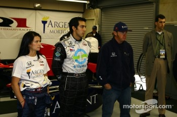 Danica Patrick, Jeff Simmons and Buddy Rice