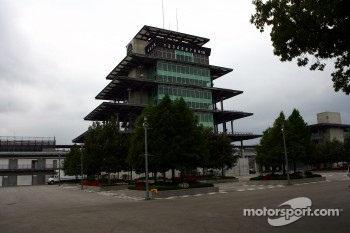 The Bombardier Pagoda at Indianapolis Motor Speedway