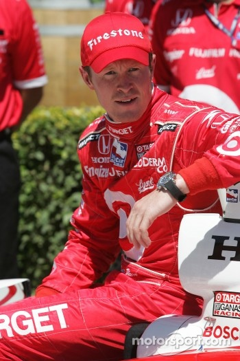 Scott Dixon on the Pole