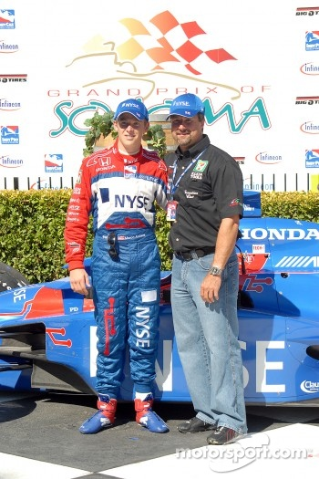 Marco and Michael Andretti