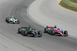Sarah Fisher, P.J. Chesson and Tony Kanaan
