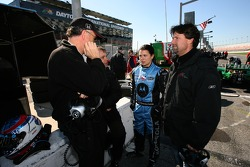 Danica Patrick and Michael Andretti