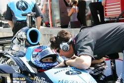 Danica Patrick and Michael Andretti