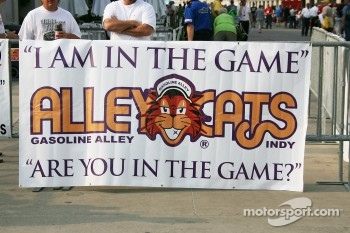 Alley Cats sign