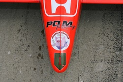 Detail of the PDM Racing car