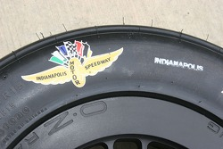 All Indy 500 tires are labeled and trademarked