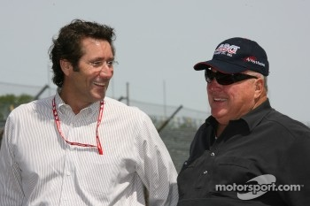 Tony George and A.J. Foyt