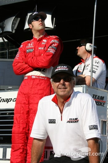 Sam Hornish Jr. and Rick Mears
