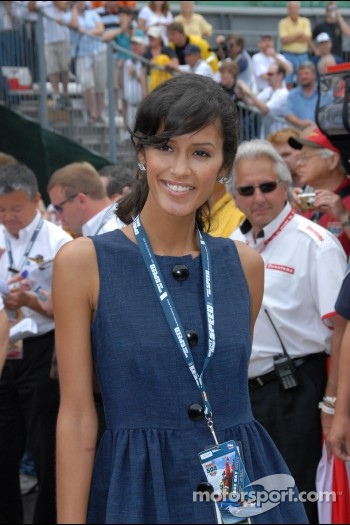 Jaslene Gonzalez of America's Next Top Model