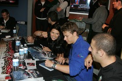Autograph session: Danica Patrick and Marco Andretti