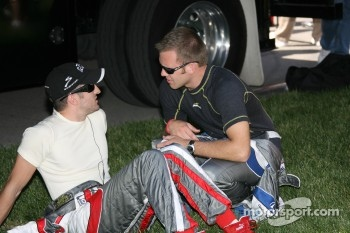 Tomas Scheckter and Ed Carpenter
