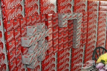 Danica Patrick's number in Coke products