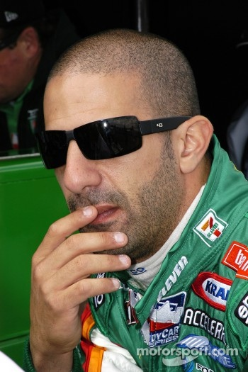 Tony Kanaan ponders his lap