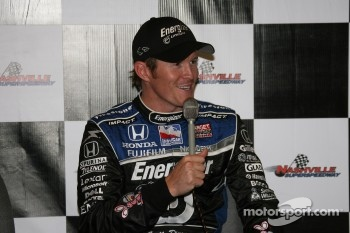 Press conference: pole winner Scott Dixon