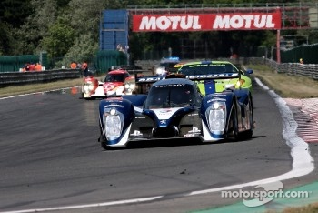 Pace lap: #8 Peugeot Sport Total Peugeot 908: Franck Montagny, Stphane Sarrazin, Nicolas Minassian
