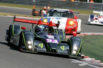 #93 Genoa Racing Formula Le Mans Oreca-09: Jens Petersen, Elton Julian, Christian Zugel