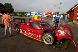 Damaged #99 GAINSCO/Bob Stallings Racing Chevrolet Riley