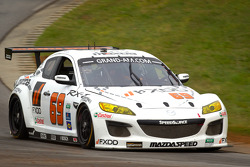 #69 SpeedSource Mazda RX-8: Emil Assentato, Jeff Segal