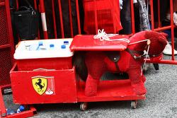 Scuderia Ferrari atmosphere