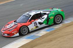 #25 Ferrari of Beverly Hills Ferrari 458 Challenge: Andy Gordon