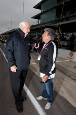 Mario Andretti and Roger Penske