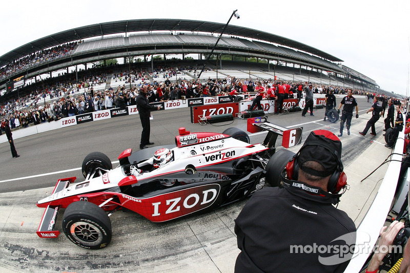 Pit stop challenge: Ryan Briscoe, Team Penske win the event