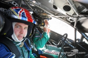 Matthew Wilson and Scott Martin, Ford Fiesta RS WRC, M-Sport Stobart Ford World Rally Team