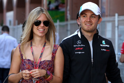 F1: Nico Rosberg, Mercedes GP and Vivian Sibold