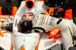 Victory circle: race winner Dan Wheldon, Bryan Herta Autosport with Curb / Agajanian congratulated by Alex Tagliani, Sam Schmidt Motorsports