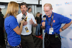 Patrick Dempsey and Derek Daly