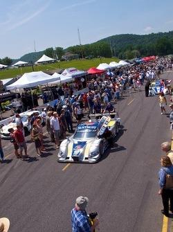 Pre-Race Fan Walk #10 SunTrust Racing Ford Dallara: Max Angelelli, Ricky Taylor