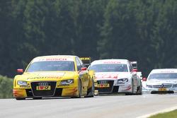Mike Rockenfeller, Audi Sport Team Abt Sportsline Audi A4 DTM, Timo Scheider, Audi Sport Team Abt Audi A4 DTM