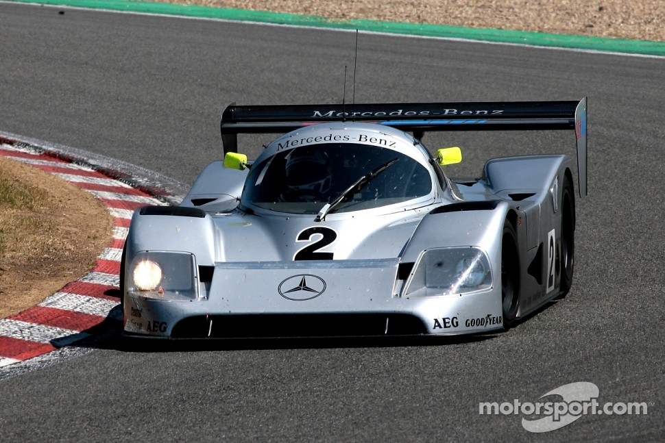 #2 Mercedes C11: Christian Glaesel