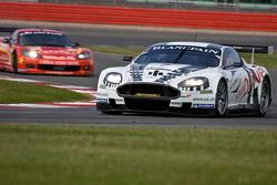 #7 Young Driver AMR Aston Martin DBR9 GT1: Tomas Enge, Alex Muller