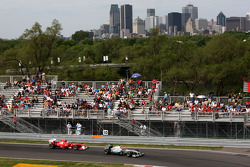 Fernando Alonso, Scuderia Ferrari and Michael Schumacher, Mercedes GP Petronas