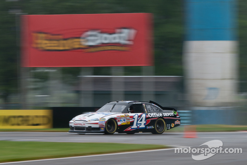 Tony Stewart in his Chevy Impala Sprint Cup car
